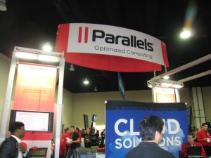 Parallels Booth with oxygen bar