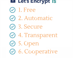 Let's Encrypt provides free security certificates for any domain