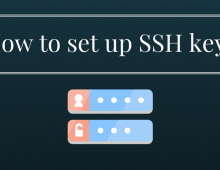 How to set up SSH keys
