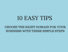 How to Pick a Domain Name For Your Business