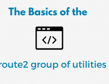The basics of the iproute2 group of utilities