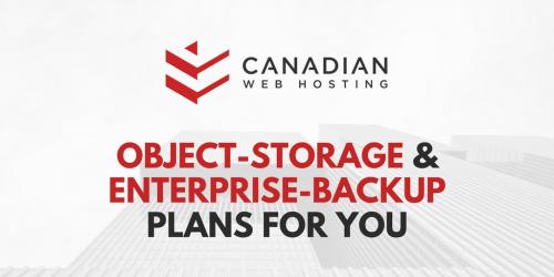 canadian web hosting, data storage, data backup, webhosting, websites, domains, object storage, enterprise backup