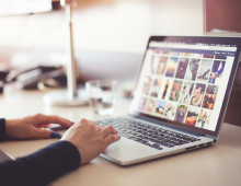 Using High-Quality Stock Photos on Social Media