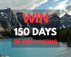 Canada Day FREE Hosting Giveaway!